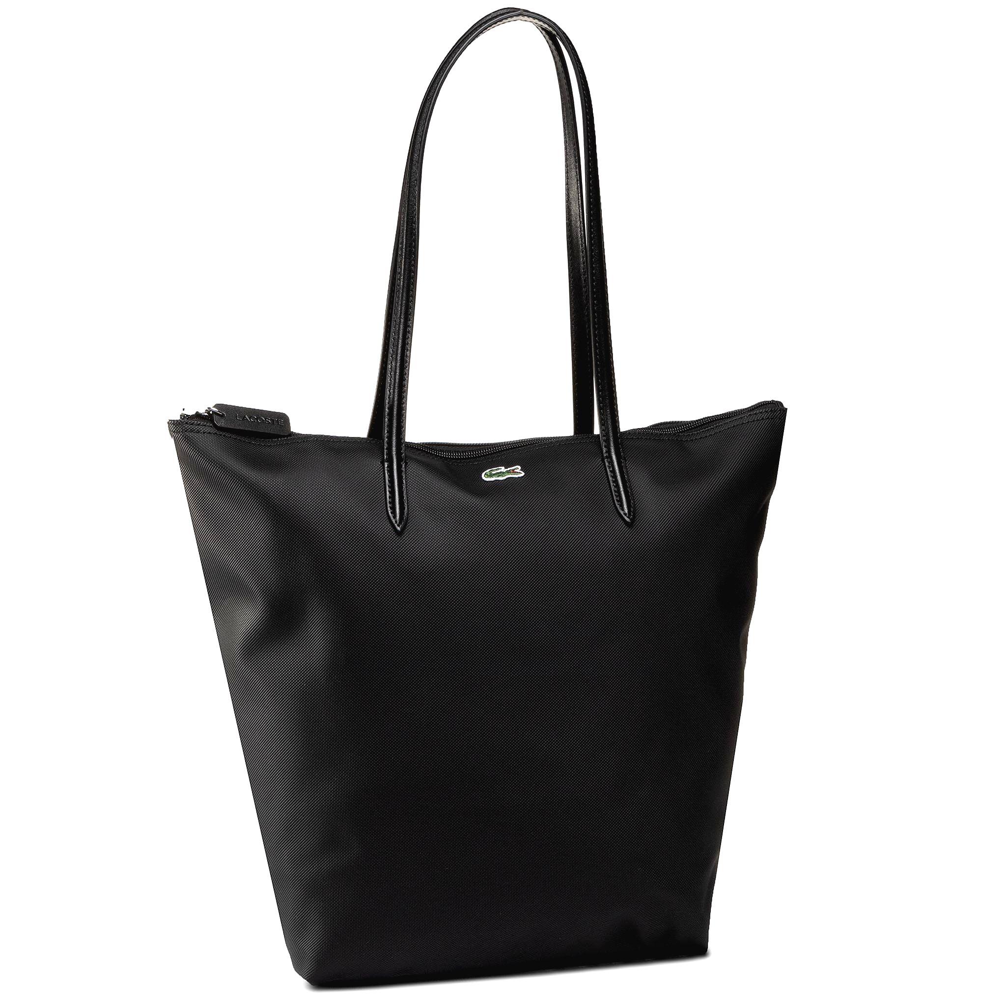 Kabelka LACOSTE - Vertical Shopping Bag NF1890PO  Black 000