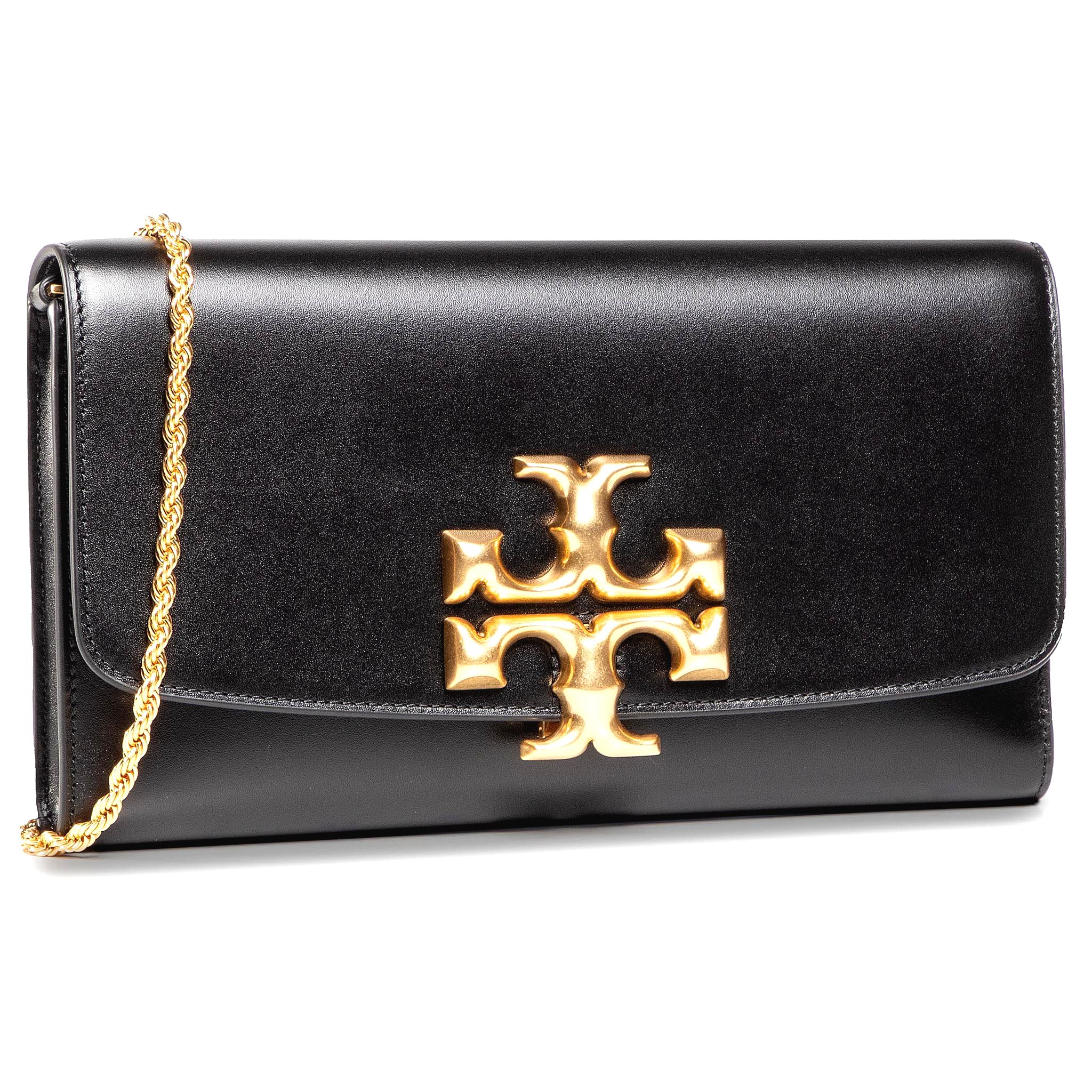 Kabelka TORY BURCH - Eleanor Clutch 73578 Black 001