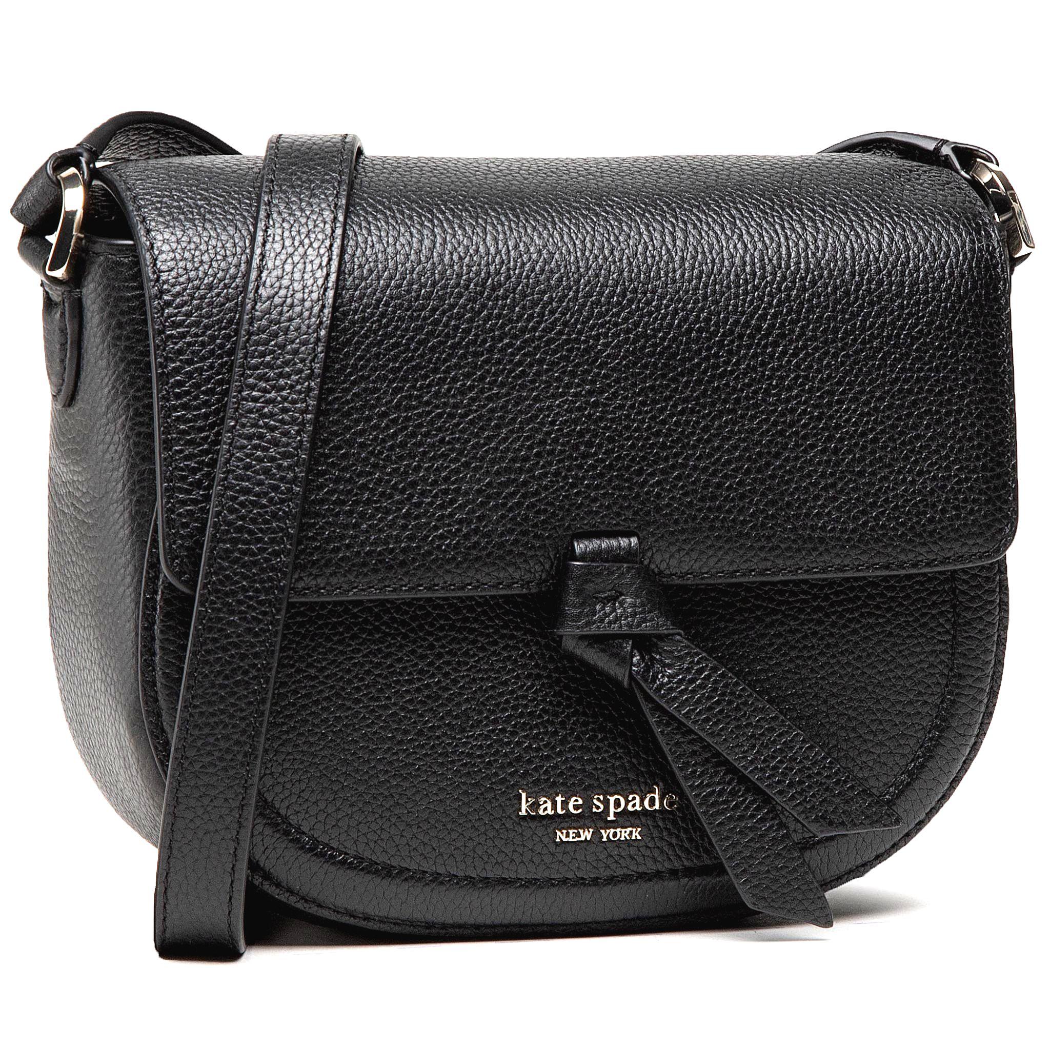 Kabelka KATE SPADE - Md Saddle Bag PXR00507 Black 001