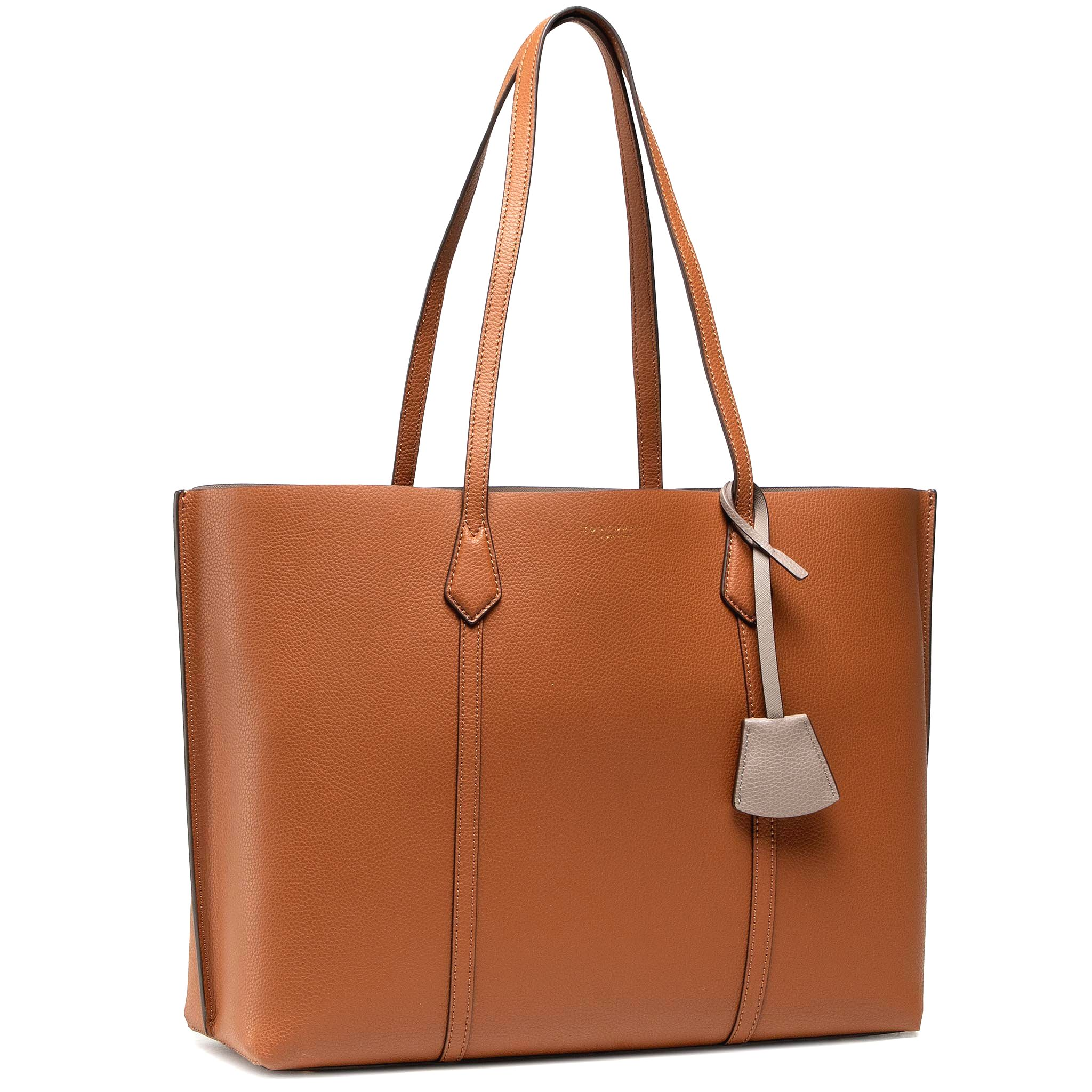 Kabelka TORY BURCH - Perry Triple - Compartment Tote 8192 Light Umber 905